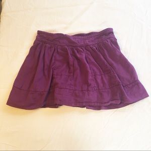 American Eagle Purple Miniskirt Size S